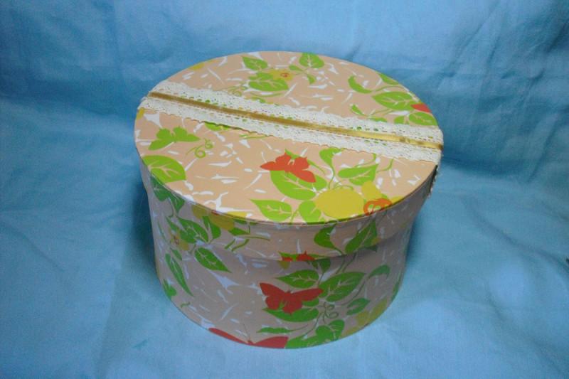 Фото 14: Декор круглой коробки