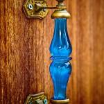 Фото 13: Комбинированная ручка из стекла и металла