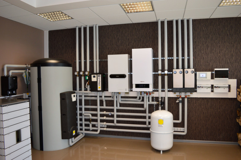 Отопление дома с помощью газовых котлов