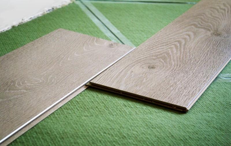 Фото 13: Хвойная подложка под ламинат