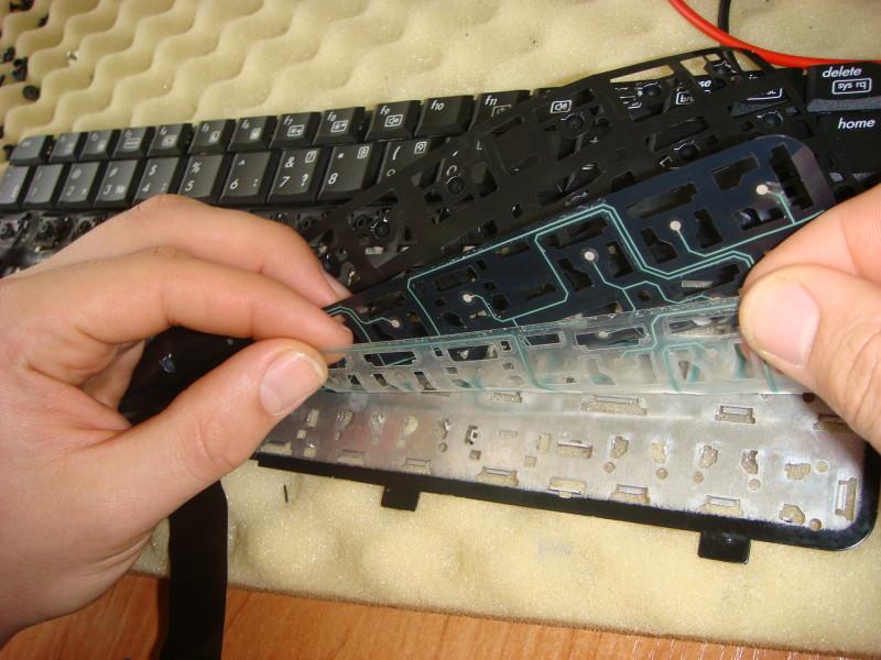 Ремонт клавиатуры ноутбука LG в СПб