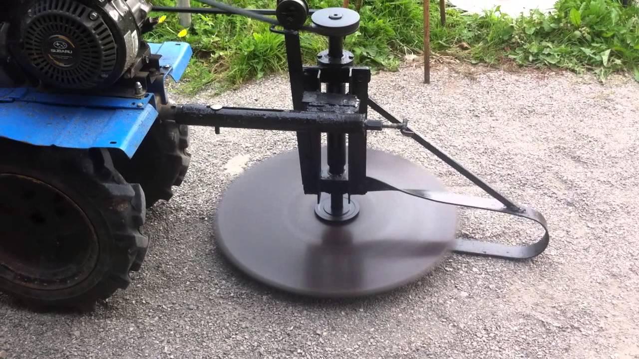 Как сделать роторную косилку на трактор своими руками