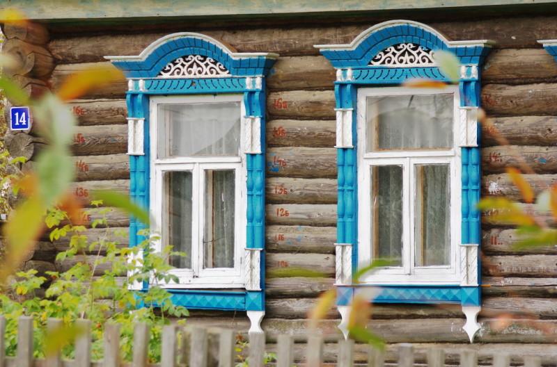 Деревянные наличники на окна
