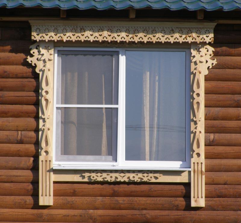 Фото 19: Наличники на пластиковые окна