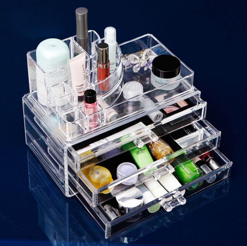 Фото 21: Пластиковый органайзер для косметики