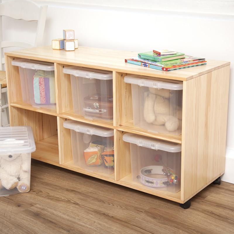 Пластиковые контейнеры для игрушек