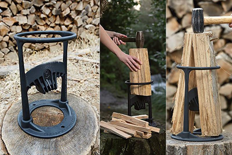 Фото 20: Подставка для колки дров