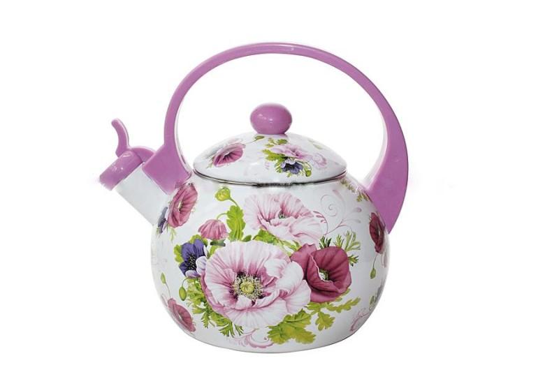 Керамический чайник с росписью