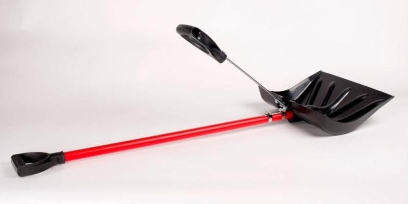 Фото 18: Снегоуборочная лопата с ручкой