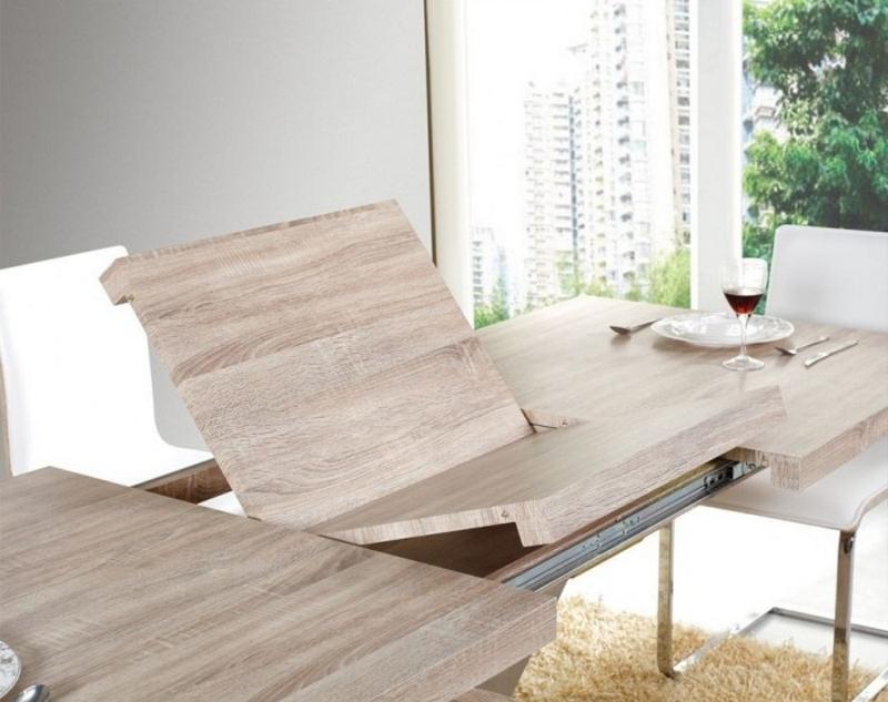 Фото 21: Складной стол из дуба сонома