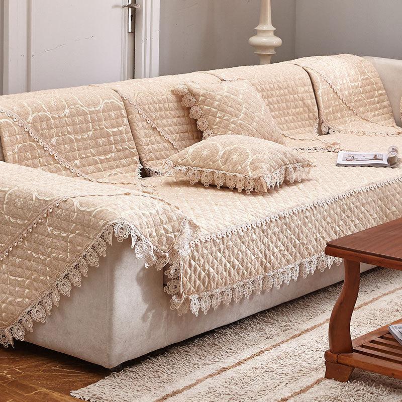 Фото 29: Дизайн покрывала на диван