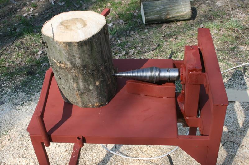 Винтовой колун дров своими руками