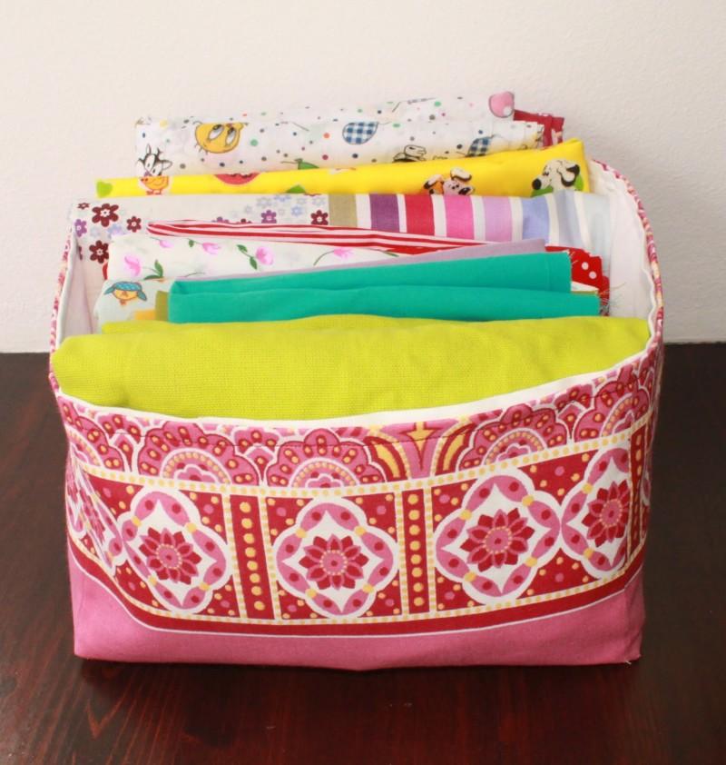 Фото 29: Текстильная коробка