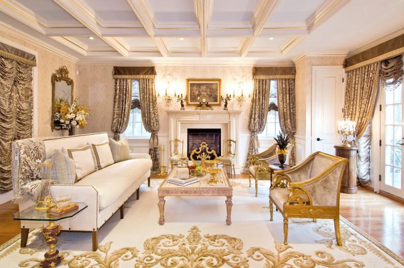 Фото 31: Золотой декор в интерьере