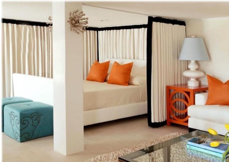 Как сделать в одной комнате гостиную и спальню в одной комнате