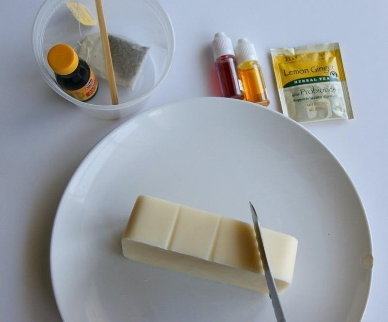 Приготовление мыла ручной работы