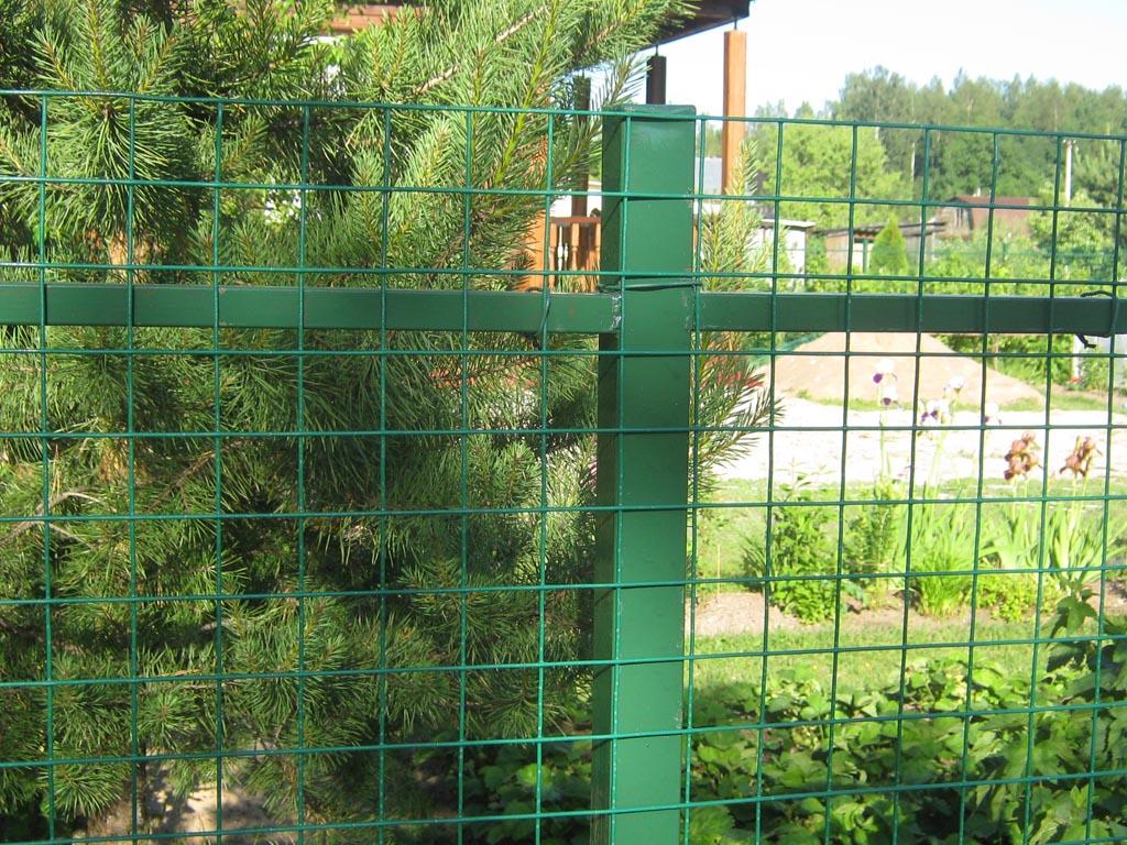 Сварные ограды из сетки