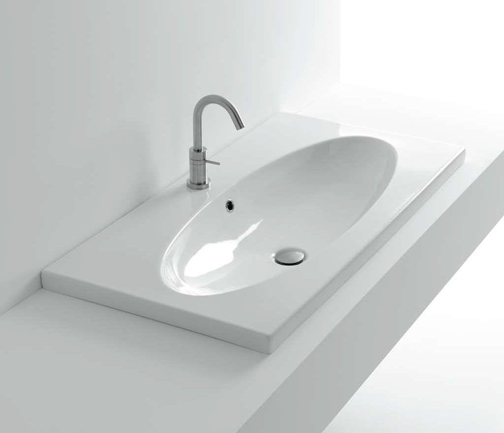 Раковина для ванной из акрила