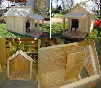 10 бесплатных идей для собачьей конуры8
