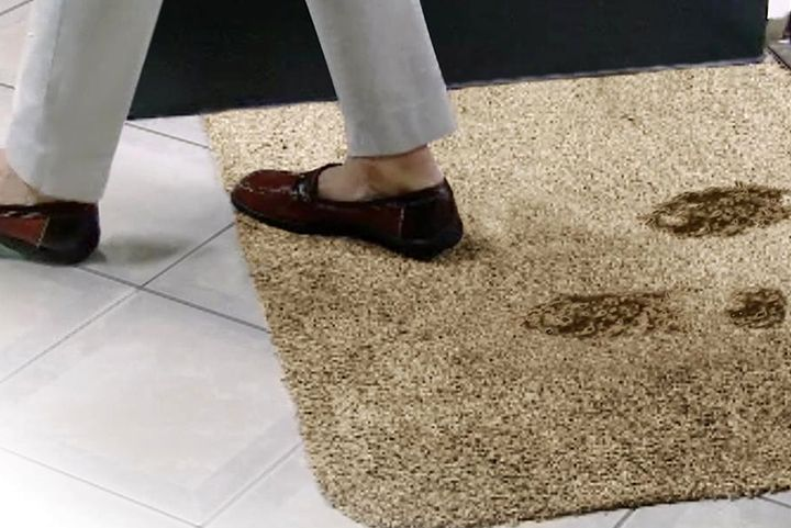 Правильное месторасположение ковровых покрытий