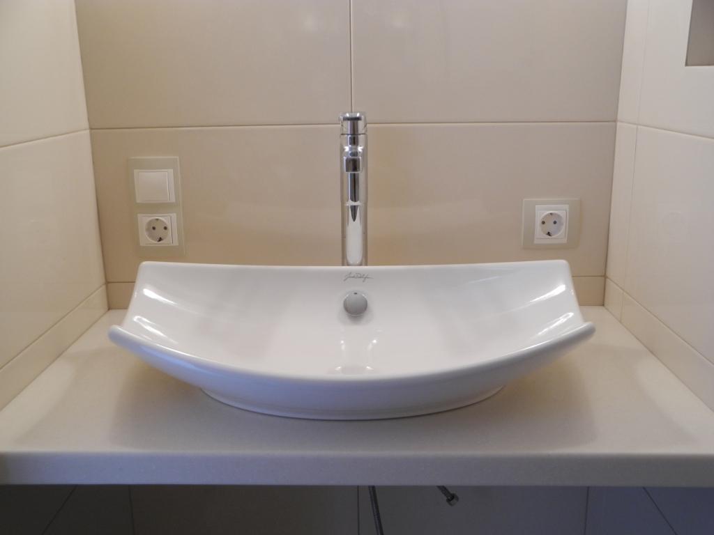Раковина для ванной тюльпан