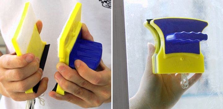 Правильное использование магнитной щетки для мытья окон