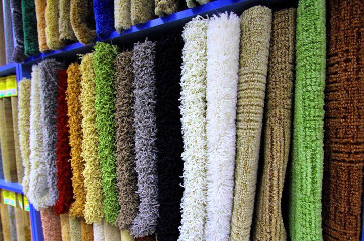 Широкий ассортимент ковровых покрытий
