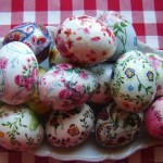 Фото 3: Декупаж яиц салфетками