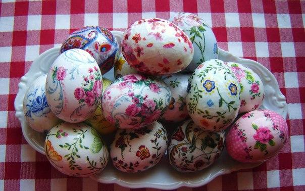 Окраска яиц к пасхе своими руками