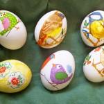 Фото 9: Декупаж яиц рисунками птичек
