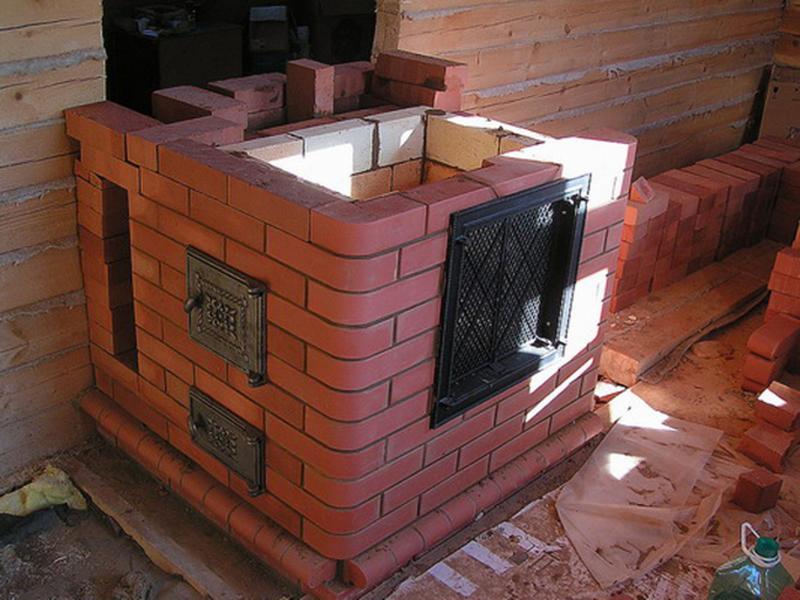 Построить печь из кирпича