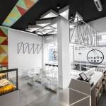 Фото 11: Суши-ресторан, вдохновленный цветовой палитрой японской кухни