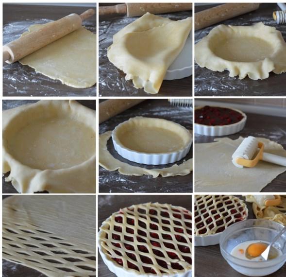 Украшение пирога мастер класс