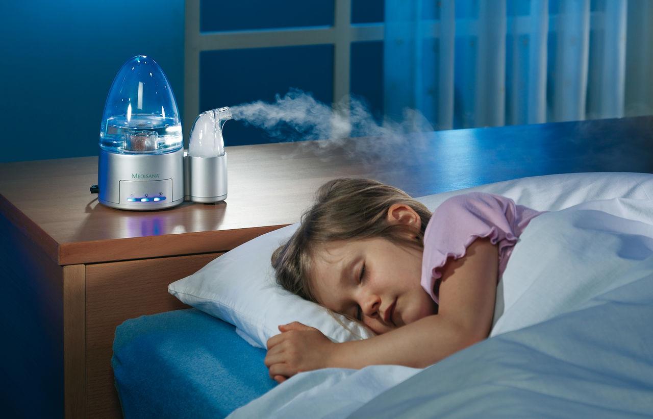 Ультразвуковой увлажнитель воздуха для ребенка