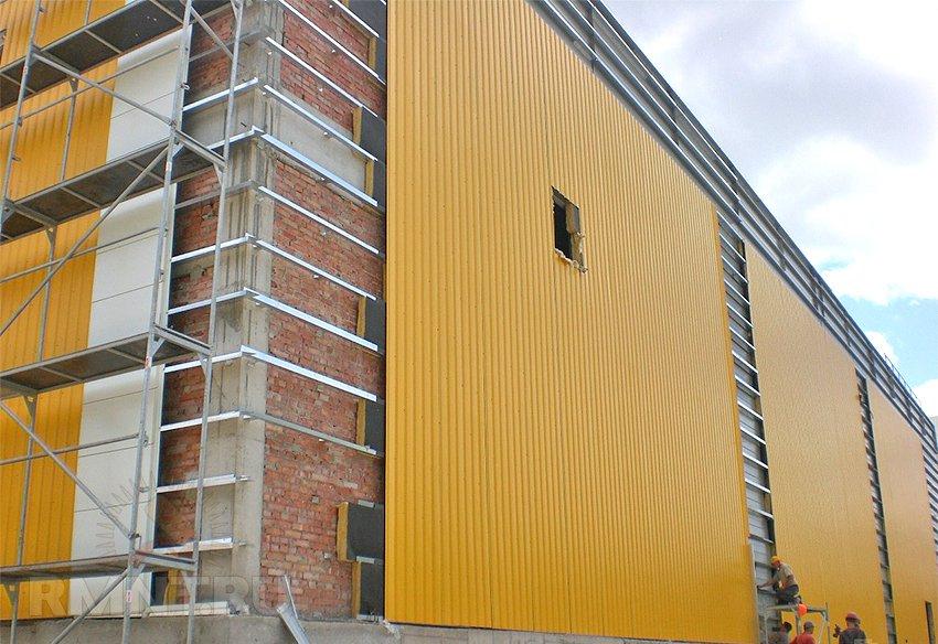 Современные вентилируемые фасады для жилых и промышленных зданий