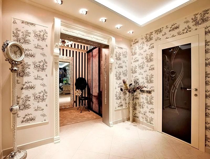 Арка в коридоре дизайн интерьера