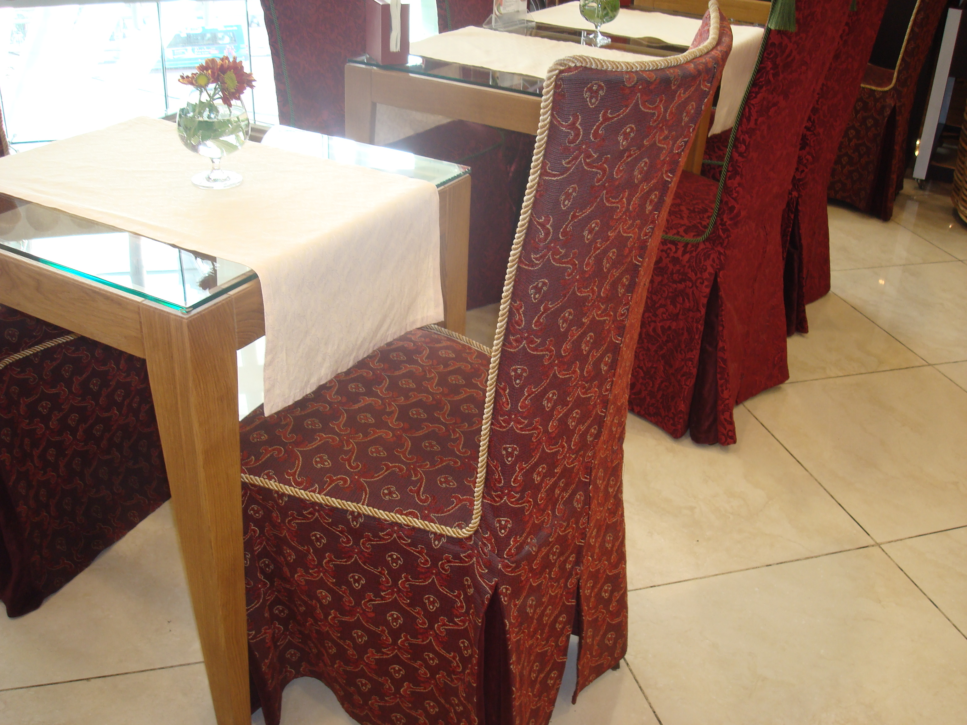 Современный чехол на стул