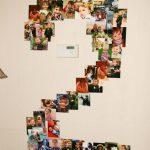 Фото 68: Аппликация из фото на стену