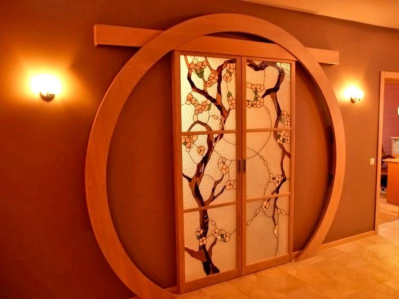 Арка с раздвижной дверью