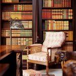 Фото 8: Библиотека в английском стиле