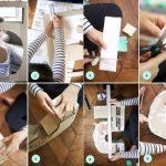 Фото 22: Изготовление цифры из картона