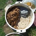 Фото 20: Изготовление раствора для плитки