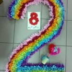 Фото 1: Цифра 2 радуга