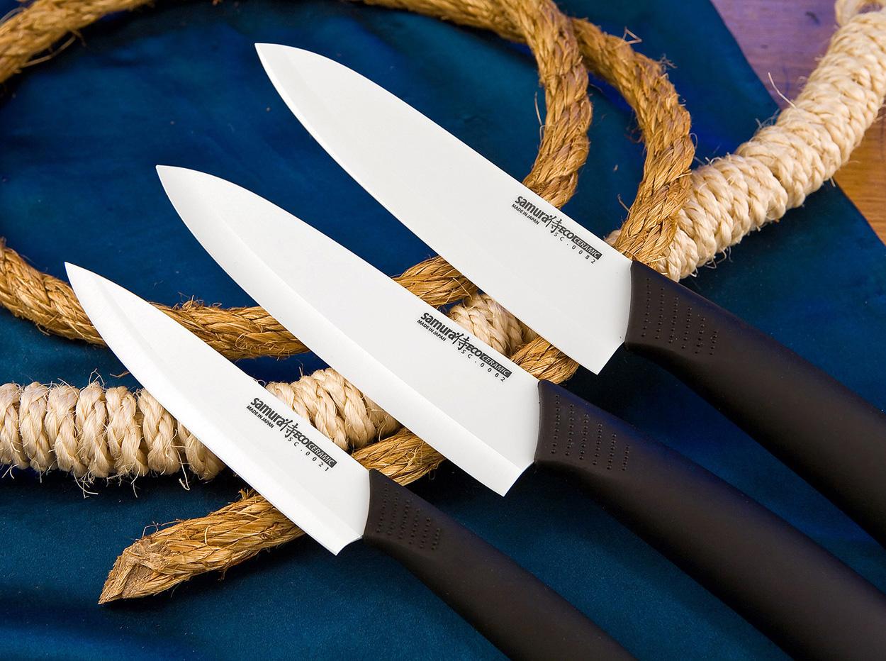 3 ножа на фото