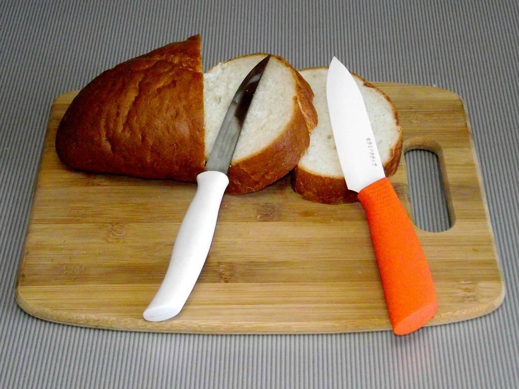 Пример ножей из керамики