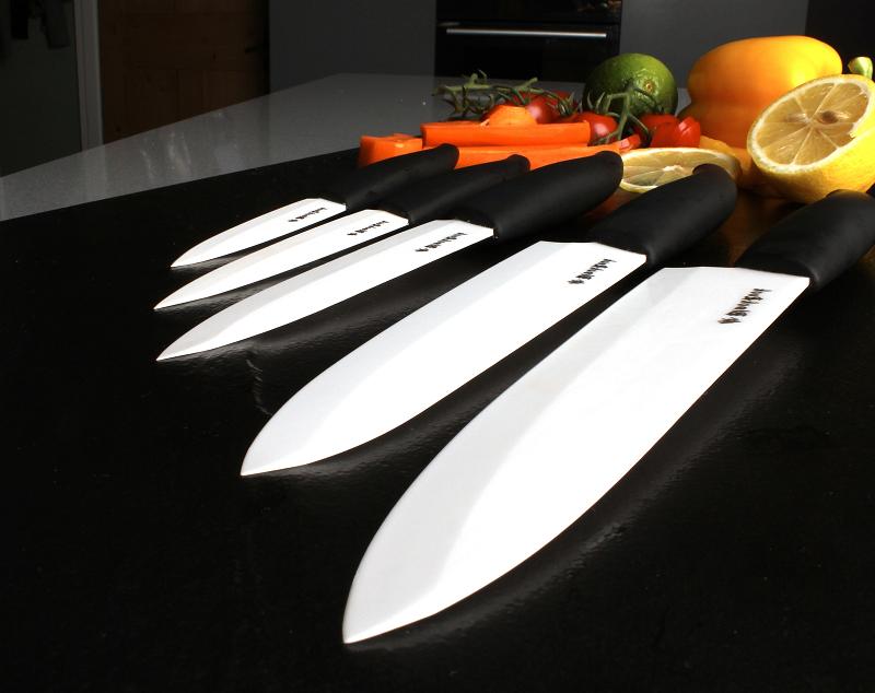Размеры керамических ножей