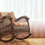 Фото 11: Кресло-качалка из ротанга