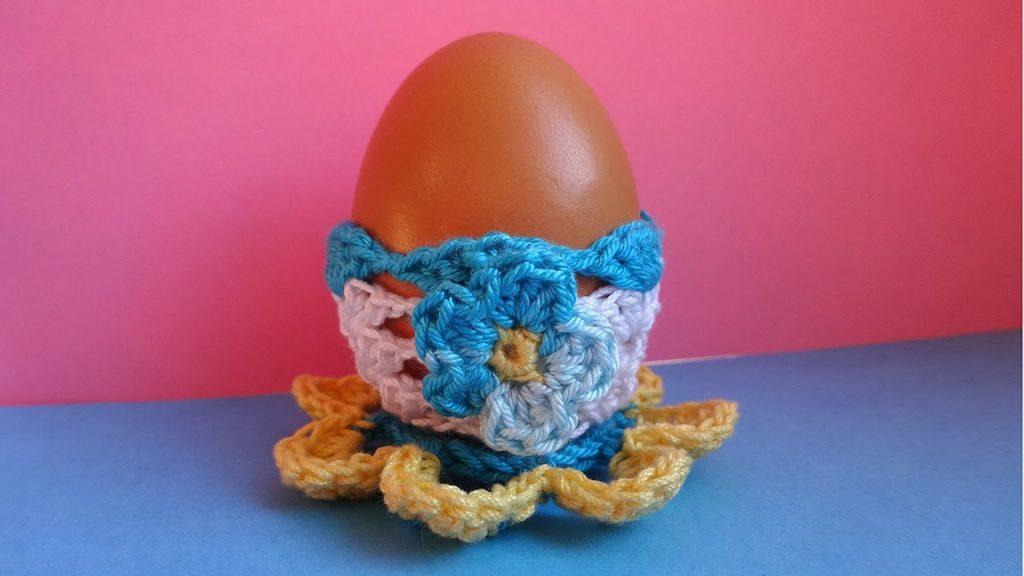 Подставка для яиц крючком