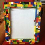 Фото 57: Декор рамки лего
