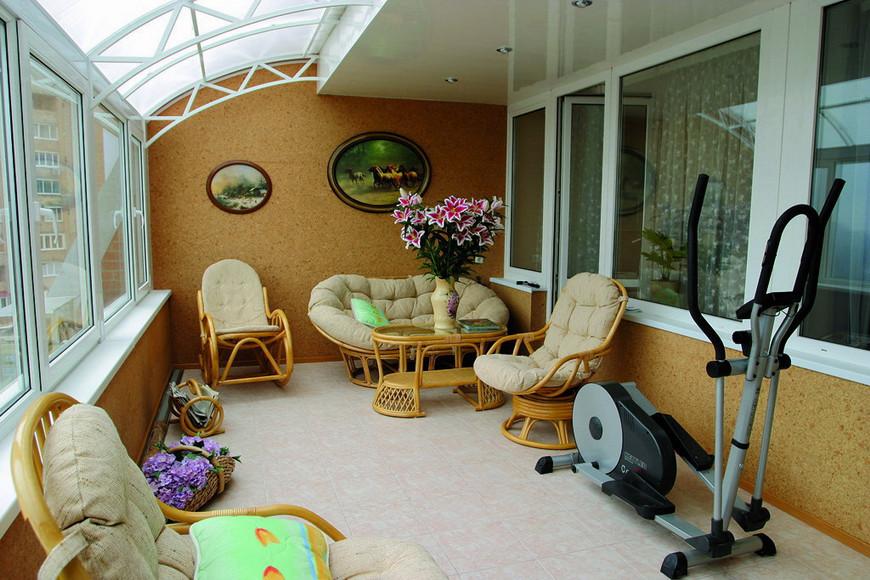 Мебель для балкона пример